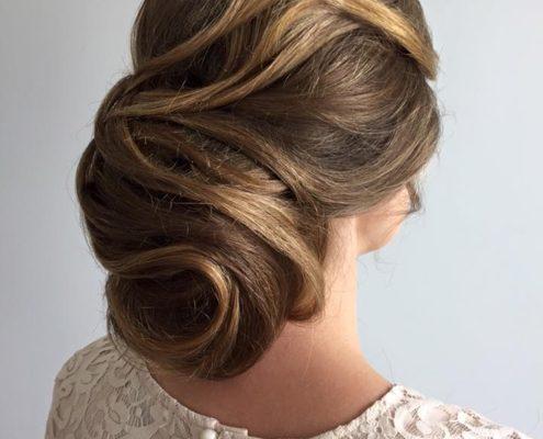 uppsättning hår